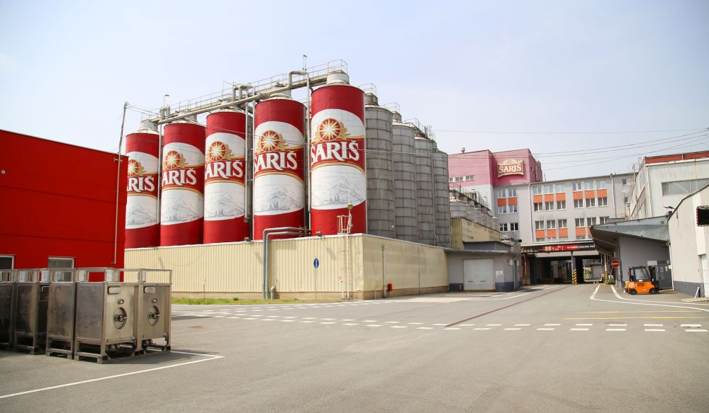 Pivovar Šariš - sladovňa