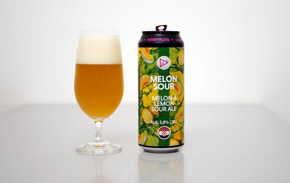 Funky Fluid - Melon Sour